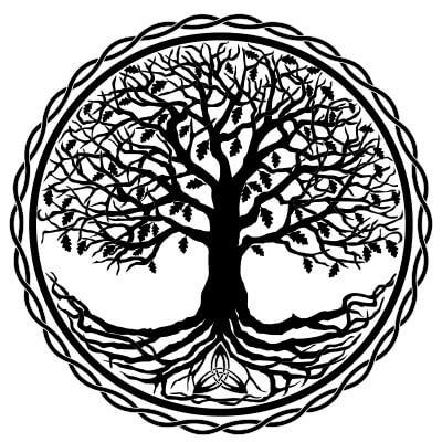 celtyckie drzewo zycia