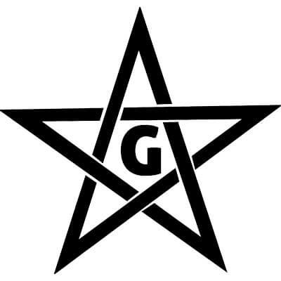 Masońska gwiazda pięczoramienna