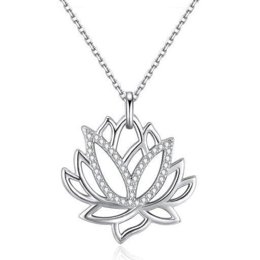 naszyjnik kwiat lotosu